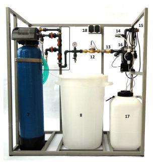 Automatická bloková úpravna vody AUV