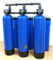 AFE triplex automatické filtry pro odstranění tvrdosti, železa, manganu, organických látek a amonných iontů