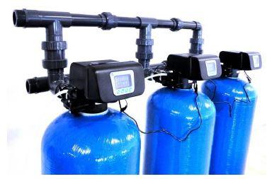 AG triplex automatické filtry na mechanické nečistoty