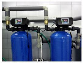 AU twin - automatický filtr s aktivním uhlím
