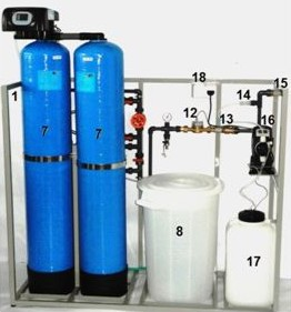 Automatická bloková úpravna vody AUVD
