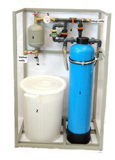 BUDK bloková úpravna vody s demikolonou