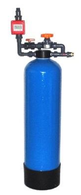 DKM demineralizační kolona s konduktometrem