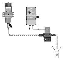 Filtr na mechanické něčistoty FR2A – provedení s automatickým proplachem