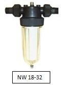 Filtr NW25 s odstředivou separací