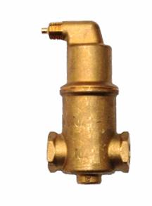 Spirovent separátor plynů závitový