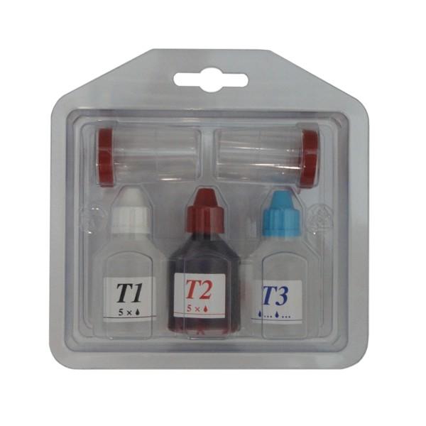 T1 - Tester na stanovení tvrdosti vody