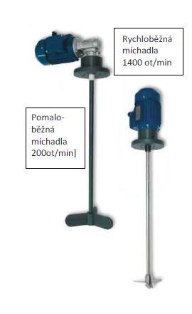 Elektrická míchadla k dávkovacím čerpadlům